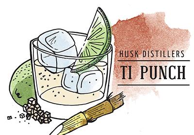 Husk Distillers Pure Cane Rum Ti Punch