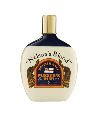 Pussers Nelsons Blood Hip Flask Rum
