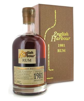 English Harbour 1981 25 Year Rum