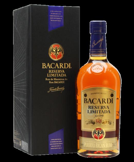 Bacardi Reserva Limitada Rum Gift Box