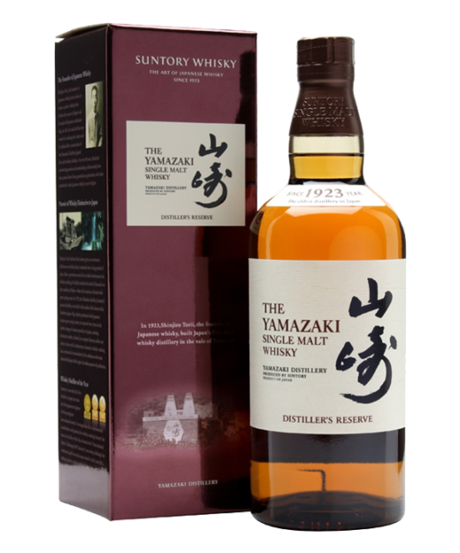 Yamazaki Distillers Reserve Single Malt Whisky