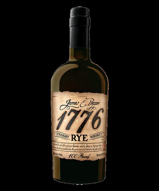 James E Pepper 1776 Rye Whiskey