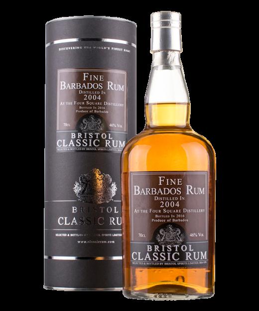 Bristol Classic Barbados Foursquare 2004 Rum