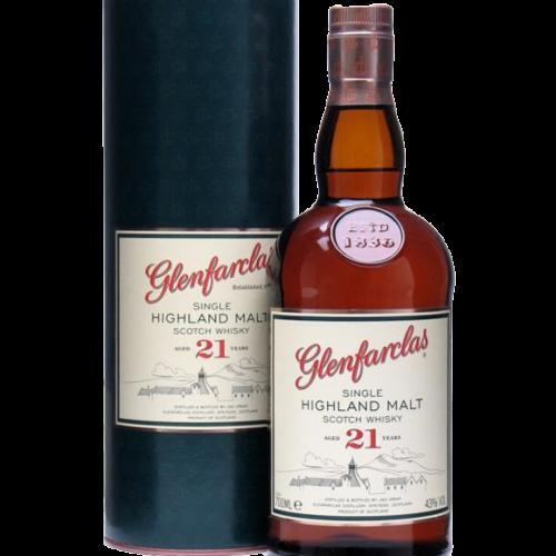 Glenfarclas 21 Year Single Malt Scotch Whisky