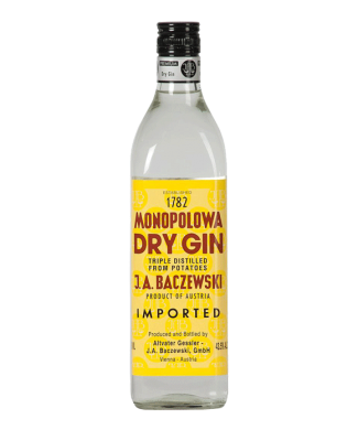 JA Baczewski Monopolowa Dry Gin