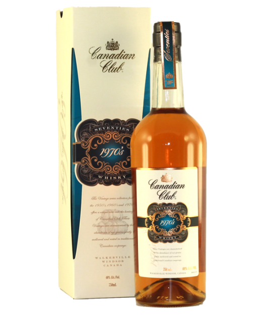 Canadian Club 1970s Whisky