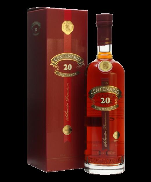 Ron Centenario Fundacion 20 Year Rum