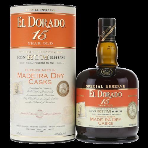 El Dorado 15 Year Rum Dry Madeira Cask Finish