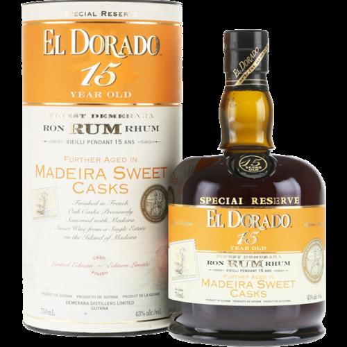 El Dorado 15 Year Rum Sweet Madeira Cask Finish