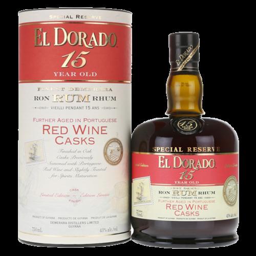El Dorado 15 Year Rum Red Wine Cask Finish