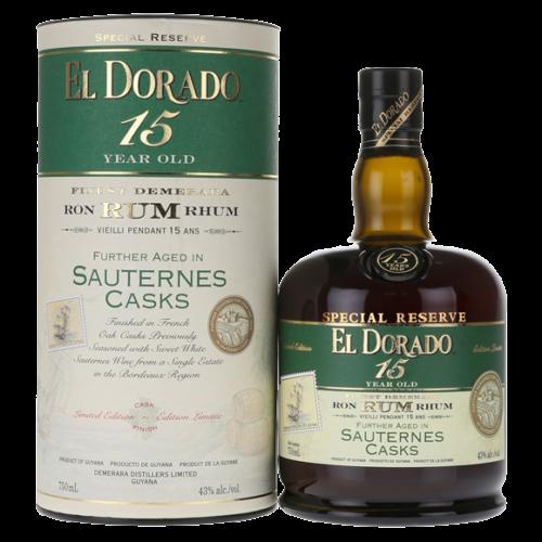 El Dorado 15 Year Rum Sauternes Cask Finish