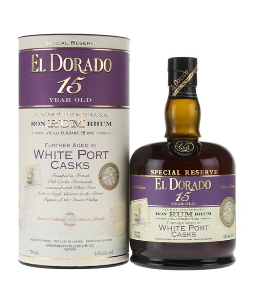 El Dorado 15 Year Rum White Port Cask Finish