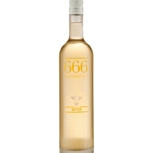 666 Autumn Butter Vodka