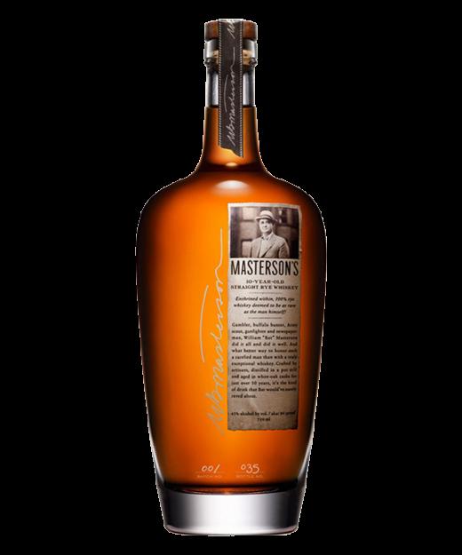 Mastersons 10 Year Rye Whiskey