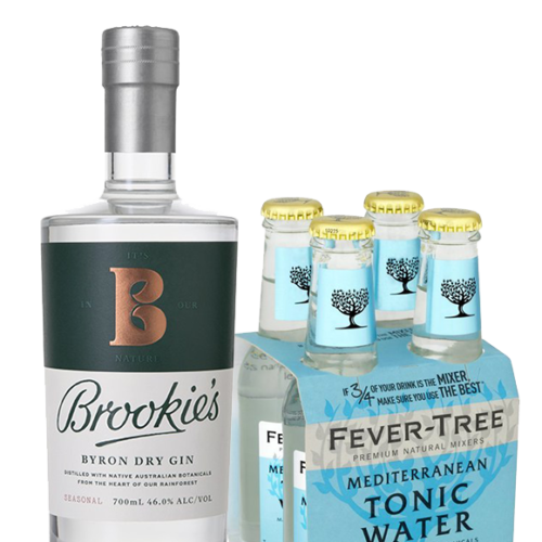 Brookies Byron Dry Gin & Tonic Pack