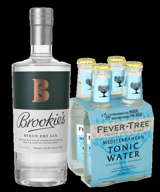 Brookies Byron Dry Gin & Tonic Pack