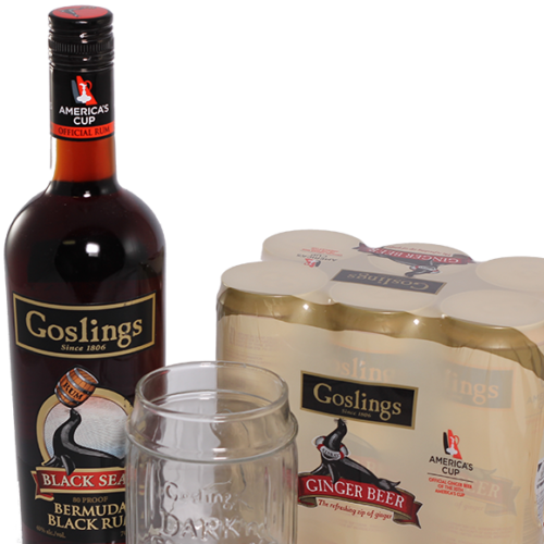 Goslings Dark and Stormy Jar Gift Pack