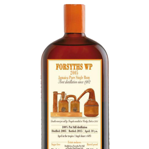 Habitation Velier Forsyths WP 2005 Pure Single Rum