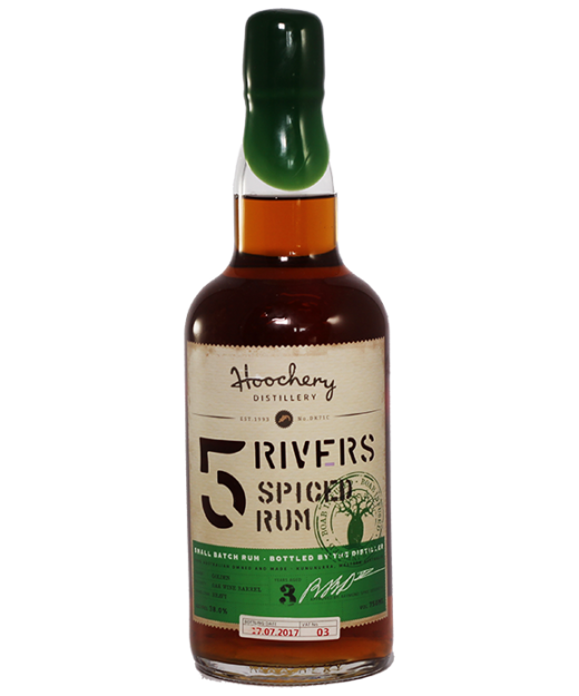 Hoochery 5 Rivers Spiced Rum
