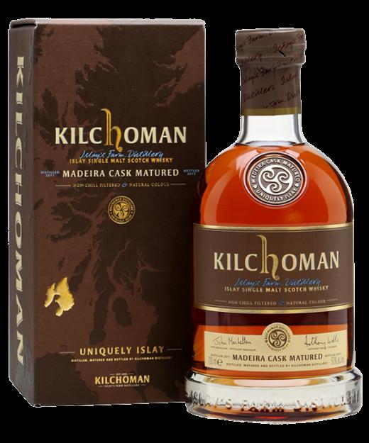Kilchoman Maderia Cask Matured Single Malt Whisky