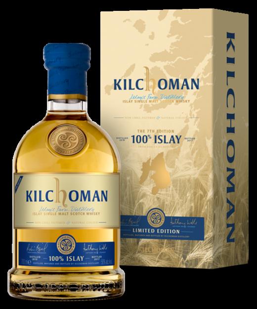 Kilchoman 100% Islay 7th Edition Single Malt Whisky