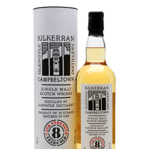 Kilkerran 8 Year Cask Strength Single Malt Whisky