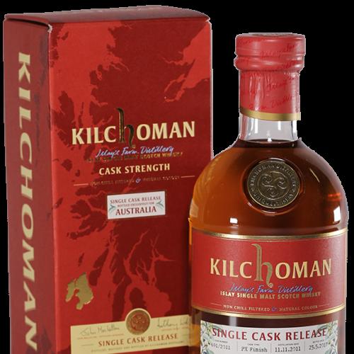Kilchoman Single Cask PX Finish Single Malt Whisky